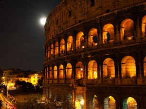 Nighttime in Rome (click to enlarge)