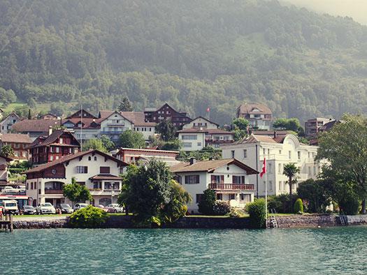 Lakeside on Lake Lucerne